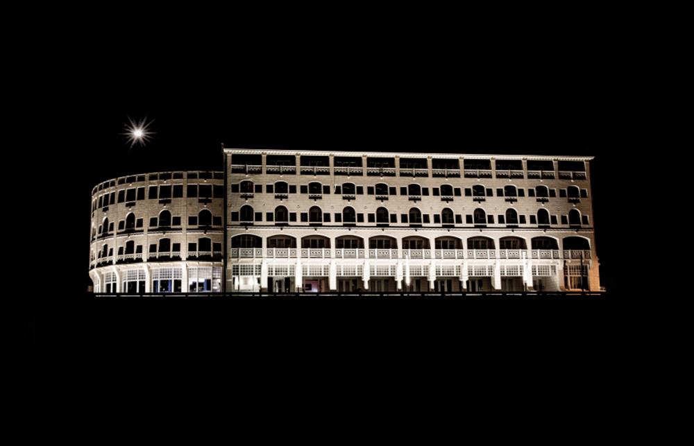 Rotonde by night
